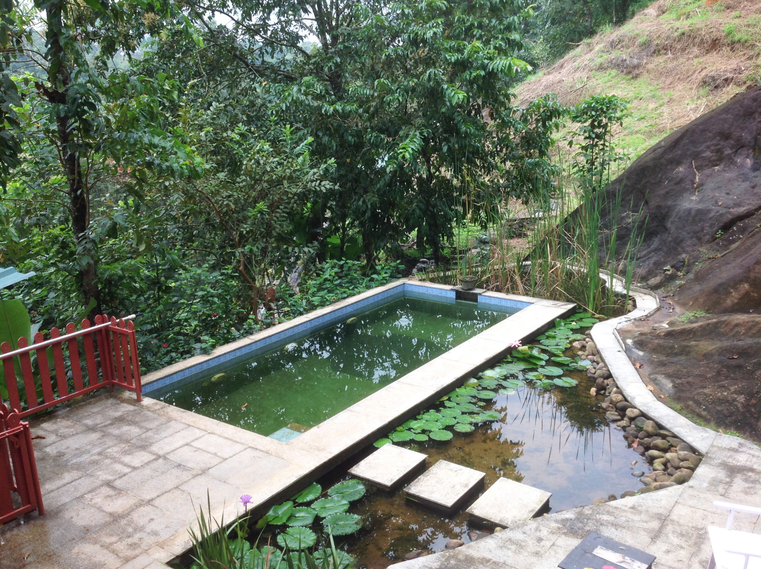 Jade Munnar Bed & Breakfast, India, Jade Munnar bathrooms and private sit out areas