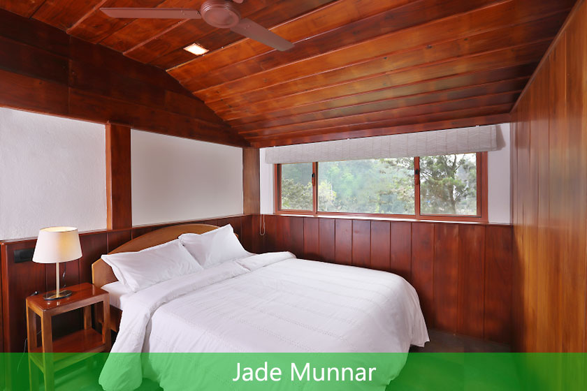 Jade Munnar offers three comfortable, private, upstairs bedrooms with dedicated bathrooms and private sit out areas